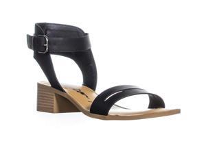 4ef086411d AR35 Alecta Ankle Strap Block Heel Sandals ...