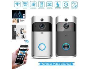 Smart Video Doorbell WiFi Wireless Security DoorBell Visual Recording Low Power Consumption Remote Home Monitoring By Smartphone Night Vision