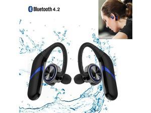High Quality Wireless Earphone Twins Waterproof Wireless Bluetooth 4.2 Stereo Earphone with Microphone Sports Earbuds for IOS and Andriod