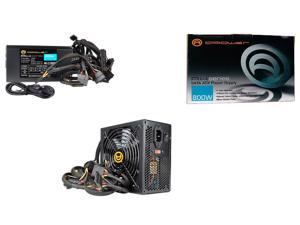 A-Power Black 800W PSU Power Supply w/ 6xSATA 8-Pin PCIe (AK800) - NEW