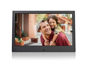 NIX Advance 13 Inch Hi-Res Digital Photo & HD Video (720p) Frame with Hu-Motion Sensor & 8GB USB included (X13C) - Free 8GB USB