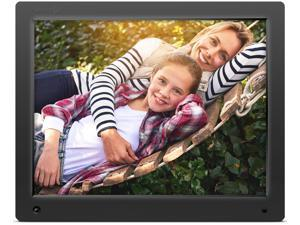 Nixplay Original 15 Inch WiFi Cloud Digital Photo Frame. iPhone & Android App, Email, Facebook, Dropbox, Instagram, Flickr, Google Photos.
