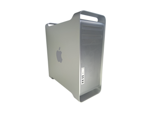 Apple Mac Pro Tower - 2 x 2.66GHZ Dual Core Xeon 5150 Processors (4 cores),  6GB Ram, 128GB SSD + 500GB HDD, NVIDIA GEFORCE 7300 GT, MacOS X v10.7 - Includes Keyboard & Mouse - A1186 MA356LL/A 3864065