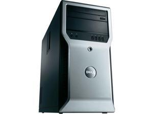 Dell Precision T1600 Workstation - Intel Xeon 3.1GHz Quad Core Processor E3-1225 (up to 3.40 GHz), 8GB DDR3, 500GB HDD, DVD, Intel HD Graphics P3000, Windows 10 Professional, Keyboard/Mouse
