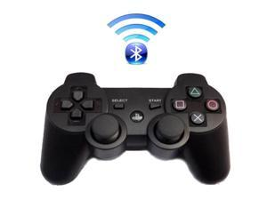 Premium Wireless Bluetooth Double Vibration Controller Remote Game  Console For Sony PS3 - Black (Althemax)