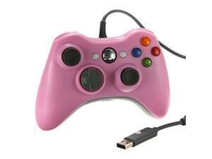 Wired USB Game Pad Joysticks Controller Reomte For Microsoft xBox 360 - Pink (Althemax)