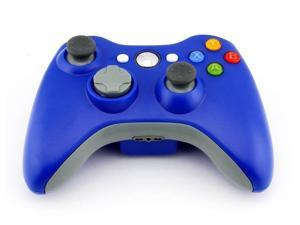 Wireless Game joysticks Remote Controller for Microsoft Xbox 360 Console - Blue (AlthemaX)