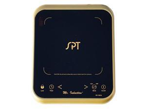 SPT SR-1883G 1650W Induction Cooktop with Gold Trim