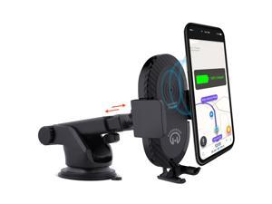 HyperGear Wireless Charging 5W Telescopic Mount Black