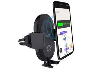 HyperGear Wireless Fast Charging 10W Vent Mount Black