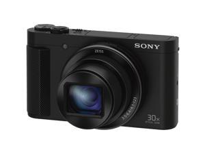 Sony DSC-HX90V High-zoom Point and Shoot Camera, Black #DSCHX90V/B