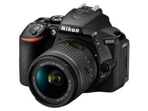 Nikon D5600 Wi-Fi Digital SLR Camera & 18-55mm VR DX AF-P Lens