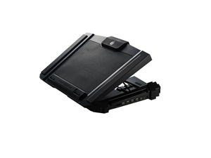 CM Storm SF-17 - Tapis de refroidissement pour ordinateur portable de jeu avec ventilateur de 180 mm et 4 réglages de hauteur ergonomiques