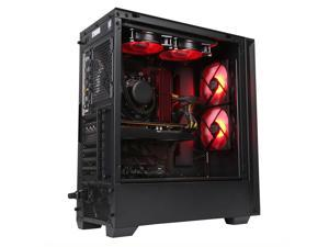 PRC Born2Game Special Edition Gaming Desktop PC AMD Ryzen 9 3900X 12-Core 3.8GHz 16GB DDR4-3200 RAM AMD Radeon RX 5700 XT 8GB GDDR6 WiFi 512GB NVMe M.2 SSD + 1 TB HD Windows 10 Pro
