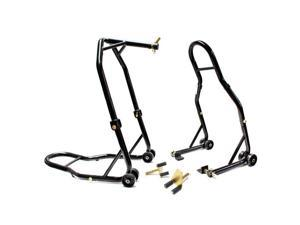 Motorcycle Front+Rear Headlift Dual Lift Stand For Buell 1125