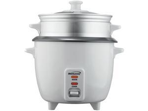 Brentwood 8 Cup Rice Cooker with Steamer Rice Cooker