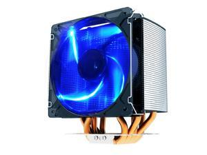 856store Fans Cooling Colorful RGB Light CPU Cooling Fan PWM Silent Cooler Heat Dissipation Radiator