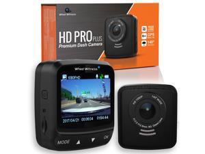 WheelWitness HD PRO PLUS Premium Car Dash Camera with Wi-Fi, GPS, Sony Exmor Sensor, Car DVR, Dual USB Charger, G Sensor, Night Vision & 16GB SD card