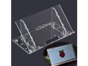 Transparent 7 Inch LCD Display Screen Housing Bracket For Raspberry Pi 7 Inch Screen