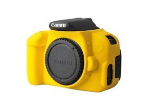 Soft Silicone Protective Case for Canon EOS 650D / 700D (Yellow)