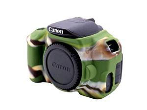 Soft Silicone Protective Case for Canon EOS 650D ...