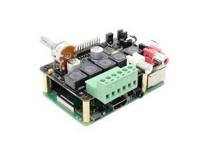 Raspberry Pi DAC+ Full-HD Class-D Amplifier I2S PCM5122 X400 V3.0  DAC AMP Audio Expansion Board Raspberry Pi 3 Model B+(Plus)/3B Music Player