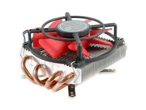 """E-buy World"" New Evercool HPKC-10025 Heatpipe Low Profile Cooler Fan i5 LGA1155 1156 AM2 AM3 FM1"