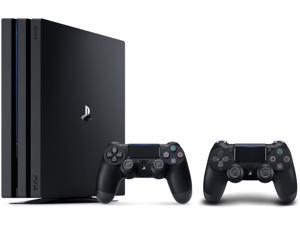 PlayStation 4 Pro Console Bundle: PS4 Pro 1TB Console and Extra PS4 Dualshock 4 Wireless Controller – Jet Black