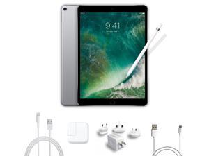 2017 New iPad Pro Bundle (4 Items): Apple 10.5 inch iPad Pro with Wi-Fi 64 GB Space Gray, Apple Pencil, Mytrix USB Apple Lightning Cable, and All-in-One USB Travel Charger