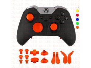 a76e2c7fa14 Metal Alloy Bumper Trigger Button Set for XBOX One Elite ...