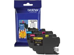 Brother LC30193PK Super High Yield Ink Cartridge - Combo Pack - Cyan/Magenta/Yellow