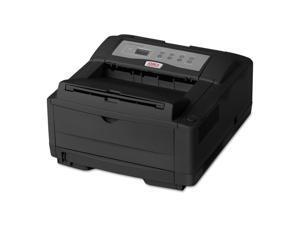 Oki Data B4600N (62446604) Up to 600 x 2400 DPI USB Monochrome Laser Printer - Black
