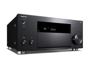 Onkyo TX-RZ820 4K HDR10 7.2-Channel Network A/V Receiver with Wi-Fi, AirPlay, Spotify, Chromecast and Bluetooth