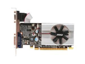 MSI GeForce 210 1GB DirectX 10.1 N210-MD1G/D3 64-Bit DDR3 PCI Express 2.0 x16 HDCP Ready Low Profile Ready Video Graphics Card