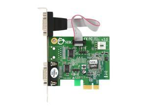 NEW DRIVER: SIIG CYBERSERIAL DUAL PCIE-DB