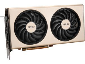 MSI Radeon RX 5700 XT DirectX 12 RX 5700 XT EVOKE OC 8GB 256-Bit GDDR6 PCI Express 4.0 HDCP Ready CrossFireX Support Video Card