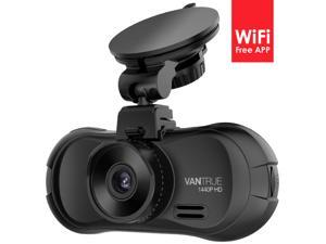 Vantrue X3 WiFi Dash cam - Super HD 2.5K Camera Recorder with Ambarella A12 Chipset, 4-Lane Wide-Angle View Lens, Super HDR ...