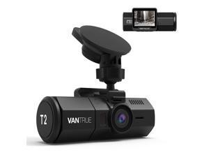 Vantrue T2 24/7 Surveillance Super Capacitor Dash Cam 1920x1080P OBD Car Camera 2.0'' LCD 160° Dashboard Camera Recorder w/Night Vision, Sony Sensor, Wave Guard Parking Monitor, Support 256GB max