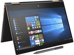 "HP Spectre x360-13t Quad Core (8th Gen Intel i7-8550U, 16GB RAM, 512GB PCIe NVMe SSD, IPS micro-edge Touchscreen Corning Gorilla, Windows 10 Ink)Bang & Olufsen 13.3"" 2-in-1 Convertible- Dark Ash"
