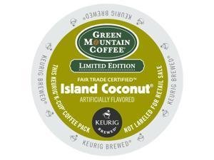 Green Mountain Coffee Roasters® Island Coconut Coffee K-Cups, 24/Box For Keurig Brewers