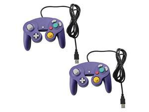 Lot Of 2 GameCube Style USB Wired Controllers For PC And MAC Classic Nintendo GC