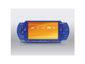 PSP 2001 Blue Slim PlayStation Portable PSP-2000