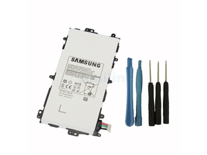 Genuine Original Samsung SP3770E1H 4600mAh Battery for Samsung Galaxy Note 8.0 GT-N5100 GT-N5110 GT-N5120 Tablets with Installation Tools