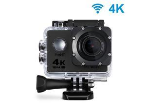ProHT Ultra HD Action Camera, 4K, WiFi, 2.0 LTPS LCD Screen, 170 Degree Wide Angle Lens, Waterproof, Sports Camera, 86303