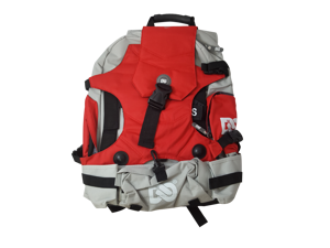 Ninebot One Series Backpack, Light Grey & Red