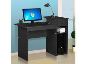 Yaheetech Home Office Small Wood Computer Desk With Drawers And Storage