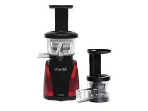 Tribest SW-2000-B Slowstar Vertical Slow Juicer and Mincer, Red/Black [Kitchen]