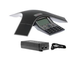 Cisco CP-7937G W/ AIR-PWRINJ4 PoE Power Injector Unified IP Conference Station * LIFETIME WARRANTY** 10/100Base-TX - Desktop