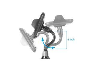 Macally Extra-Long Adjustable Automobile Cup Holder Mount for Smartphones and most GPS MCupXL