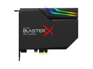 Creative Labs Sound BlasterX AE-5 Gaming Sound Card, Black